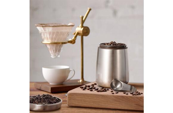 2_【E-PRANCE】ステンレス コーヒーキャニスター