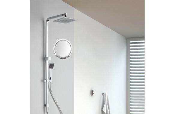 2_【Gotofine】シャワーミラー(浴室鏡)強力吸盤付き